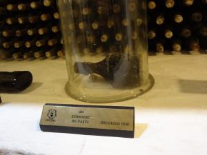 Najstarija flaša vina vinskog podruma u Cricovi