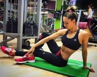 Priprema za prvi trening – Diana Morić