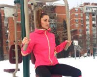 Trening na snegu – Diana Morić