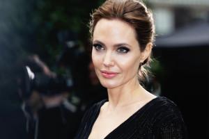 Mandatory Credit: Photo by James Shaw/Rex/REX USA (2069901g) Angelina Jolie 'Maleficent' film event, Kensington Palace, London, Britain - 08 May 2014