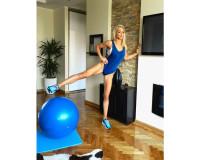 Vežbe sa pilates loptom – Diana Morić