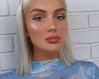 Novi make up trend – beli eyeliner!