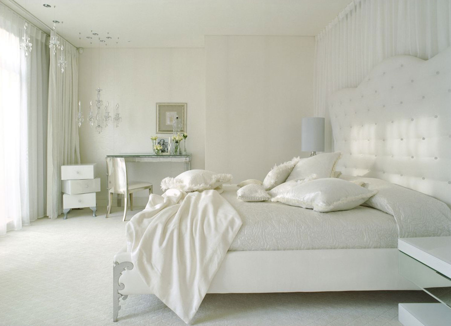 šta boja vaše spavaće sobe govori o vama my cup of tea 16456 | white bedroom design ideas collection homesthetics 19